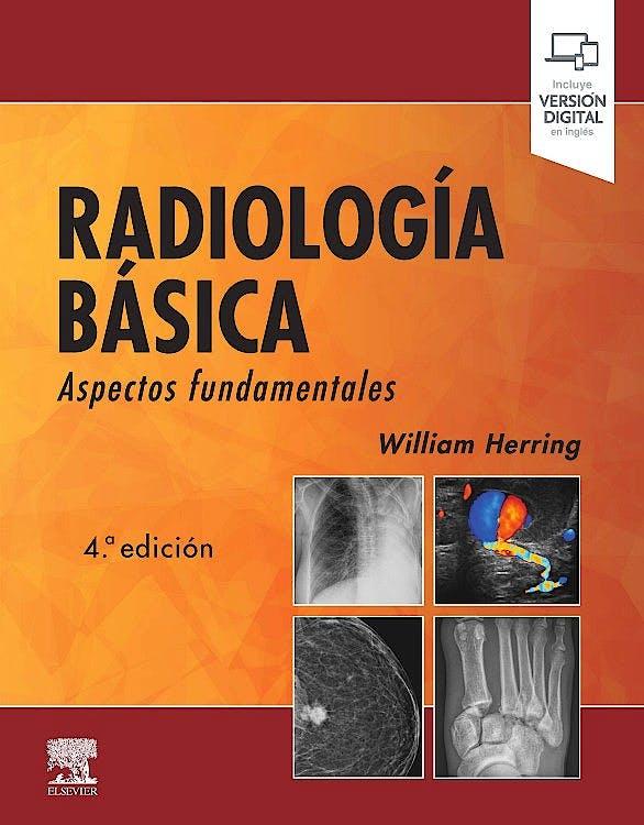 Portada del libro 9788491136651 Radiología Básica. Aspectos Fundamentales (Incluye Versión Digital en Inglés)