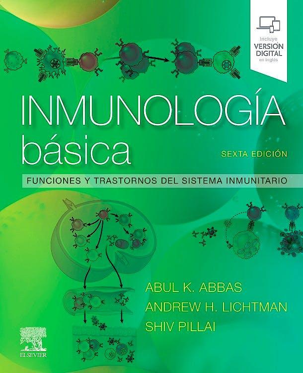 Portada del libro 9788491136705 Inmunología Básica. Funciones y Trastornos del Sistema Inmunitario