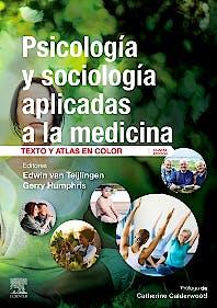 Portada del libro 9788491136743 Psicología y Sociología Aplicadas a la Medicina. Texto y Atlas en Color