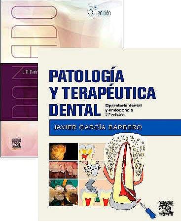 Portada del libro 9788491136910 Lote Donado Cirugía Bucal + Patología y Terapéutica Dental