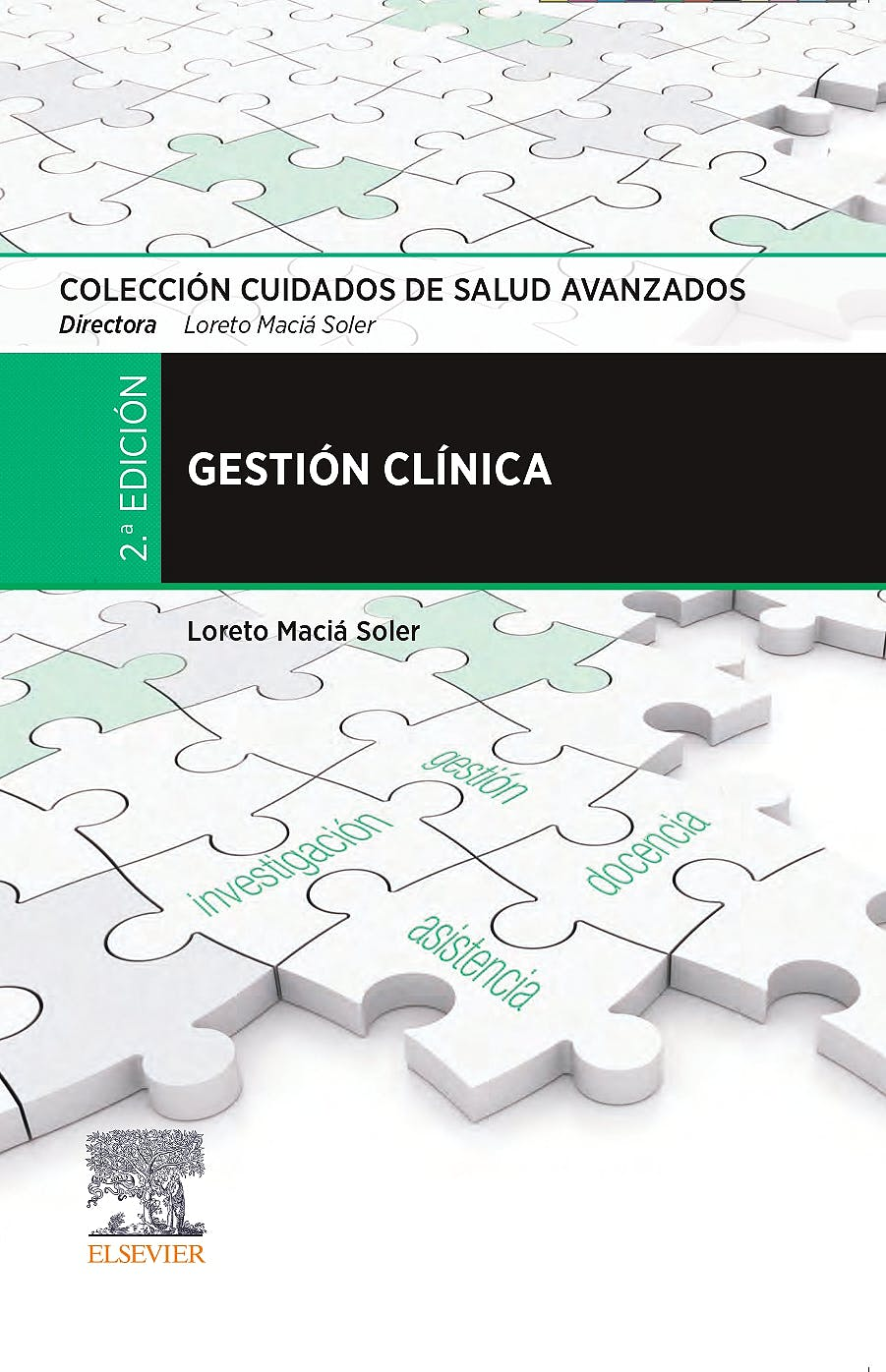 Portada del libro 9788491137207 Gestión Clínica