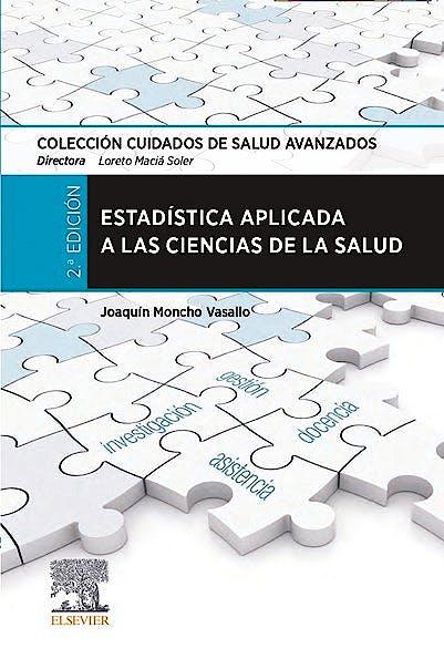 Portada del libro 9788491137214 Estadística Aplicada a las Ciencias de la Salud
