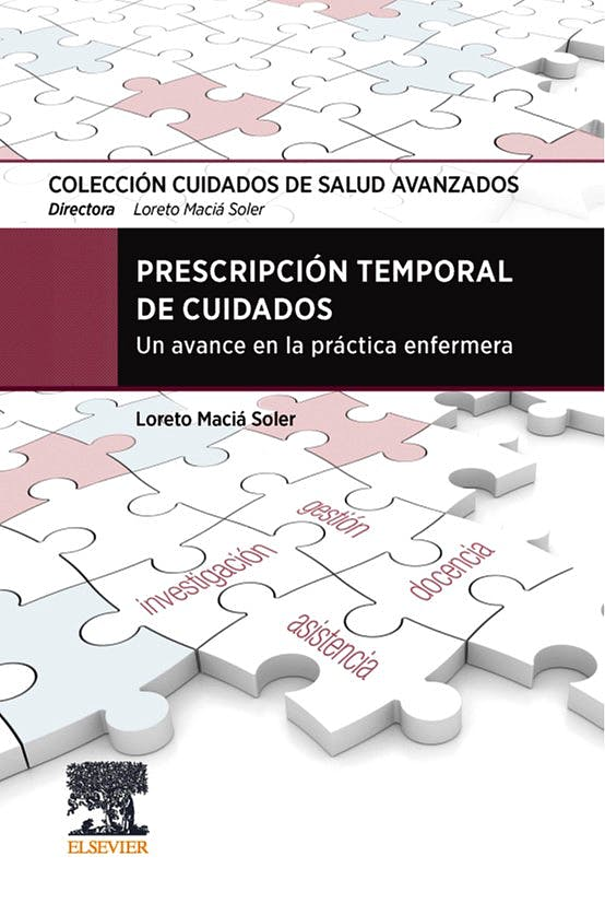 Portada del libro 9788491137306 Prescripción Temporal de Cuidados. Un Avance en la Práctica Enfermera