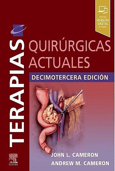 Portada del libro 9788491137443 Terapias Quirúrgicas Actuales (Incluye Versión Digital en Inglés)
