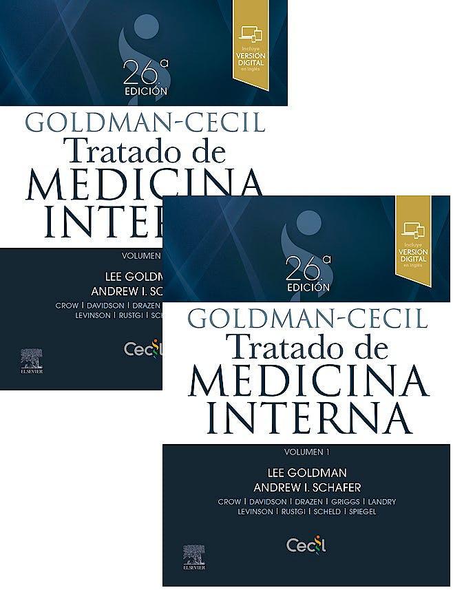 Portada del libro 9788491137658 GOLDMAN-CECIL Tratado de Medicina Interna, 2 Vols.
