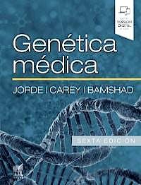 Portada del libro 9788491137979 Genética Médica
