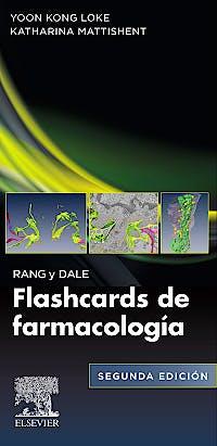 Portada del libro 9788491138426 RANG y DALE. Flashcards de Farmacología