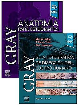 Portada del libro 9788491138617 Lote Gray Anatomía para Estudiantes + Gray Guía Fotográfica de Disección del Cuerpo Humano