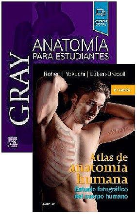 Portada del libro 9788491138655 Lote Gray Anatomía para Estudiantes + Atlas de Anatomía Humana. Estudio Fotográfico del Cuerpo Humano