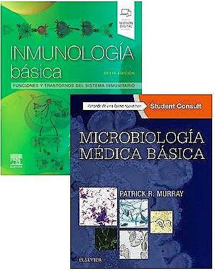 Portada del libro 9788491138761 Lote Inmunología Básica + Microbiología Médica Básica