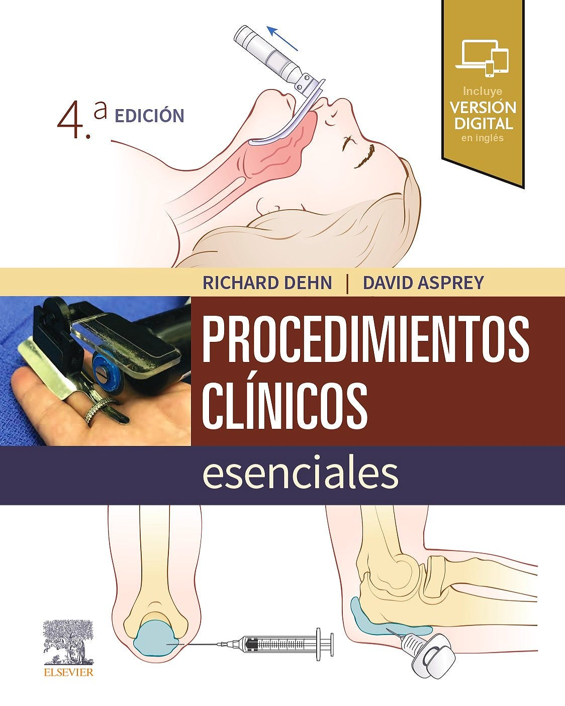 Portada del libro 9788491138846 Procedimientos Clínicos Esenciales