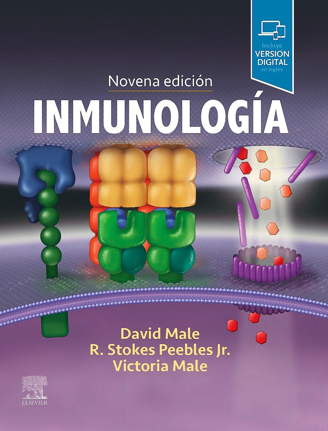 Portada del libro 9788491138907 Inmunología