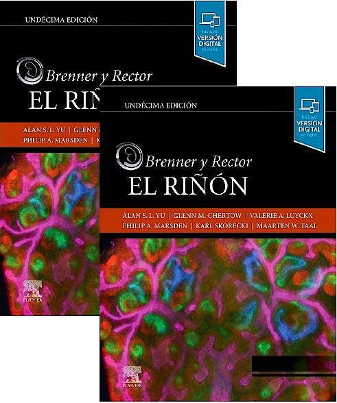 Portada del libro 9788491138969 BRENNER y RECTOR El Riñón. 2 Volúmenes