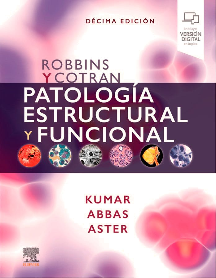Portada del libro 9788491139119 ROBBINS y COTRAN Patología Estructural y Funcional