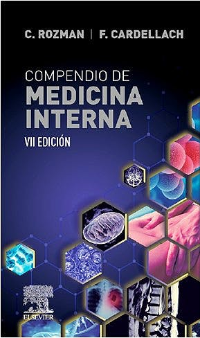 Portada del libro 9788491139133 FARRERAS y ROZMAN Compendio de Medicina Interna