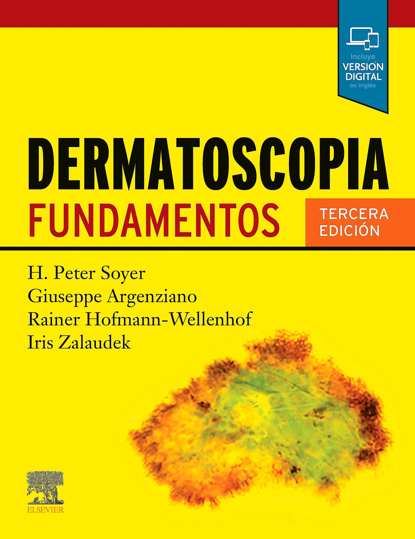 Portada del libro 9788491139386 Dermatoscopia. Fundamentos