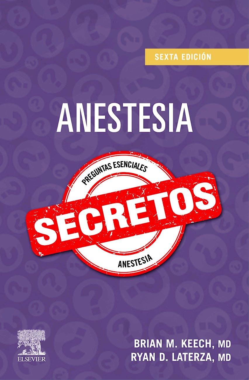 Portada del libro 9788491139454 Anestesia. Secretos