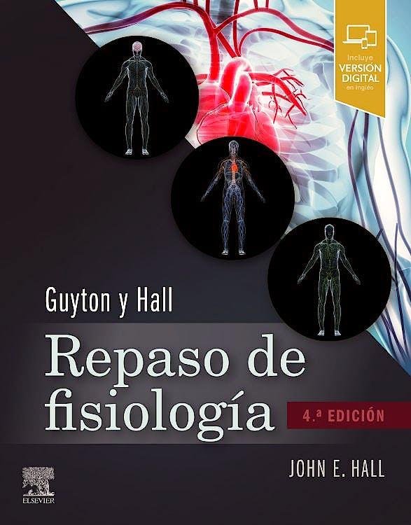 Portada del libro 9788491139553 GUYTON & HALL Repaso de Fisiología Médica
