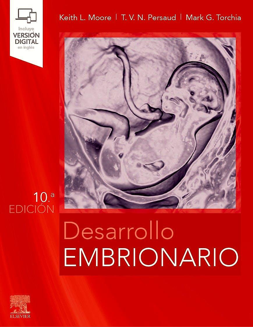 Portada del libro 9788491139584 Desarrollo Embrionario
