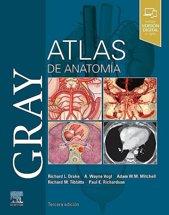 Portada del libro 9788491139607 GRAY Atlas de Anatomía