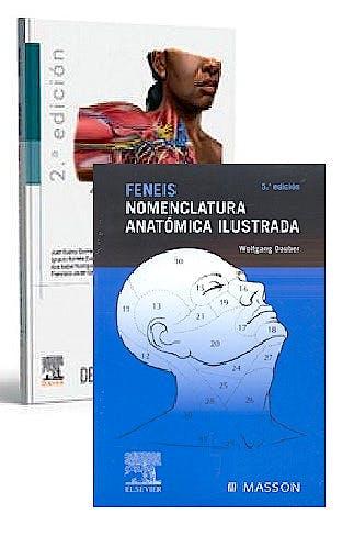 Portada del libro 9788491139959 Lote Feneis Nomenclatura Anatómica Ilustrada + Anatomía Humana para Estudiantes de Ciencias de la Salud