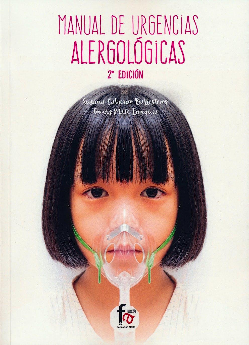 Portada del libro 9788491240693 Manual de Urgencias Alergologicas