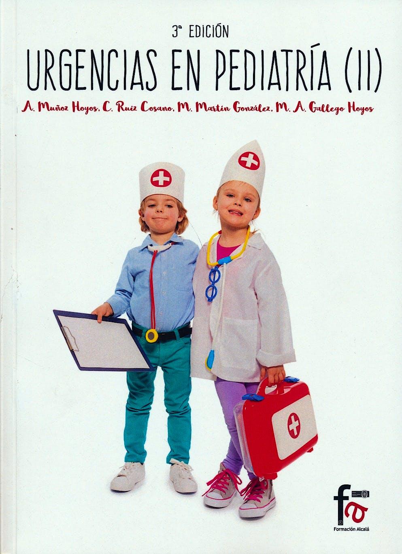 Portada del libro 9788491249405 Urgencias en Pediatría (II)