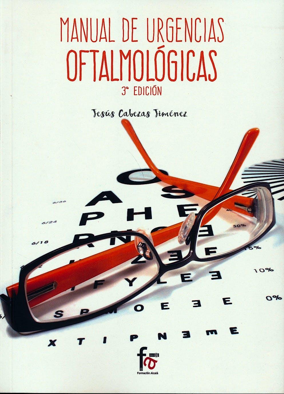Portada del libro 9788491249511 Manual de Urgencias Oftalmológicas