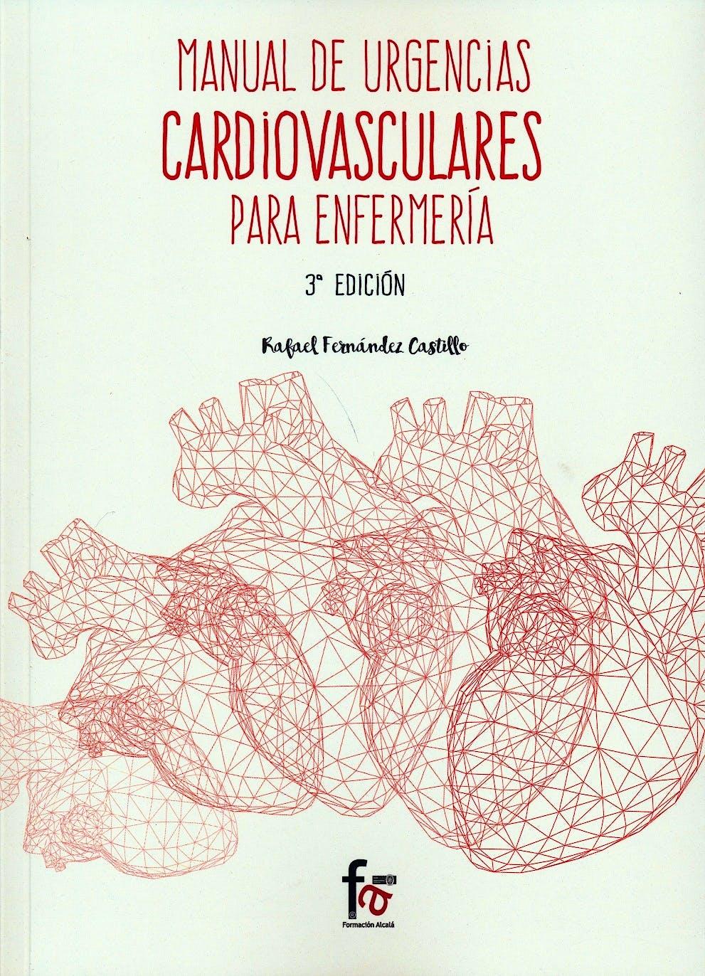 Portada del libro 9788491249542 Manual de Urgencias Cardiovasculares para Enfermeria