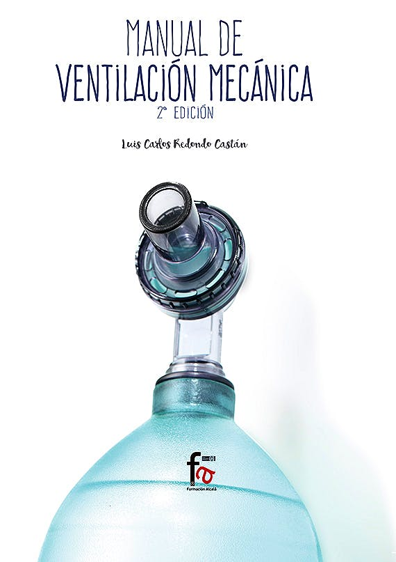 Portada del libro 9788491249566 Manual de Ventilación Mecánica