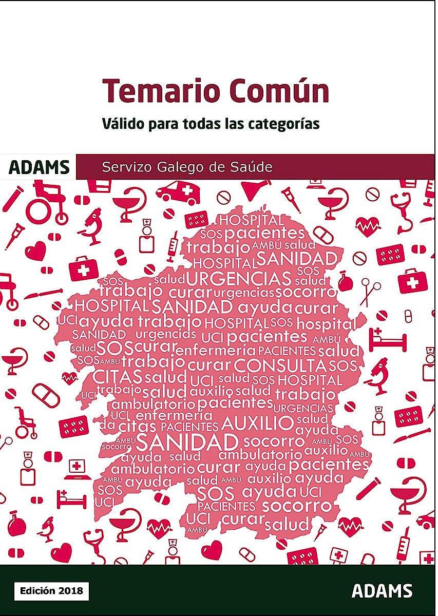 Portada del libro 9788491475002 Temario Común (Válido para Todas las Categorías). Servizo Galego de Saúde