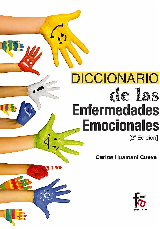 Portada del libro 9788491490661 Diccionario de las Enfermedades Emocionales