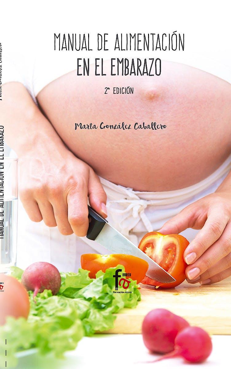Portada del libro 9788491491996 Manual de Alimentacion en el Embarazo