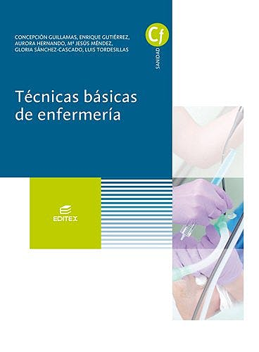 Portada del libro 9788491610250 Técnicas Básicas de Enfermería (Ciclos Formativos)