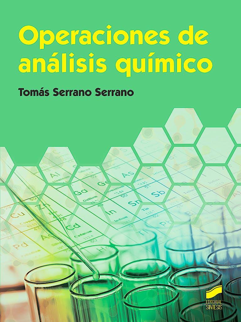 Portada del libro 9788491711520 Operaciones de Análisis Químico