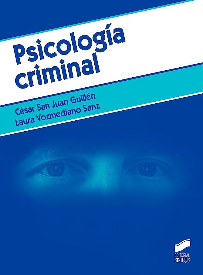 Portada del libro 9788491712312 Psicología Criminal