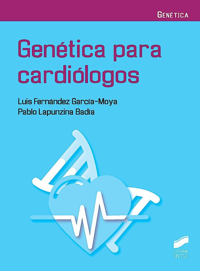 Portada del libro 9788491712695 Genética para Cardiólogos