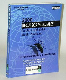 Portada del libro 9788492075898 2000 Recursos Mundiales - la Guia Global del Medio Ambiente