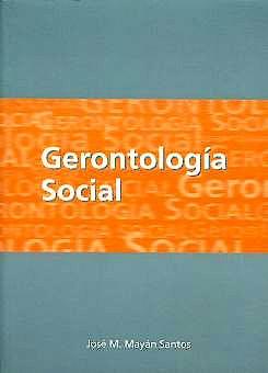 Portada del libro 9788492198955 Gerontologia Social