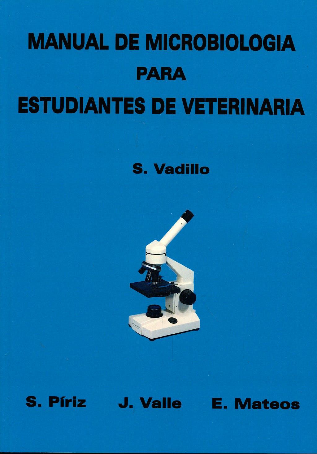 Portada del libro 9788492321698 Manual de Microbiologia para Estudiantes de Veterinaria