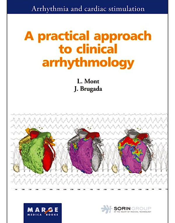 Portada del libro 9788492442867 A Practical Approach to Clinical Arrhythmology (Arrhythmia and Cardiac Stimulation)