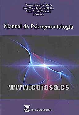 Portada del libro 9788492477234 Manual de Psicogerontologia
