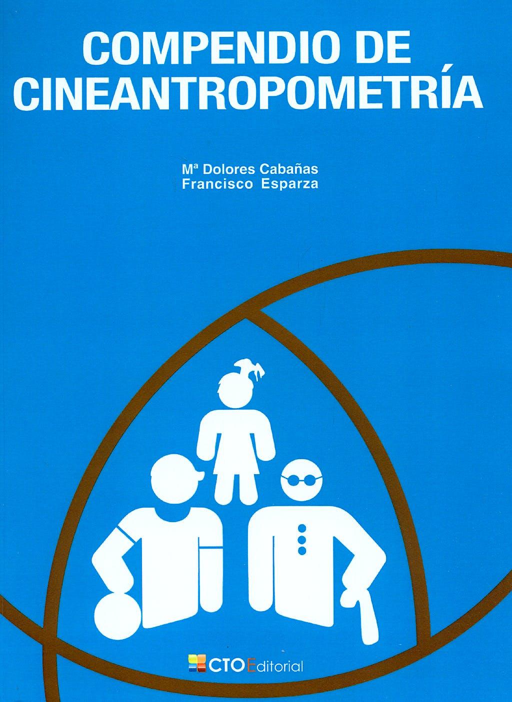 Portada del libro 9788492523726 Compendio de Cineantropometría (Blanco y Negro)