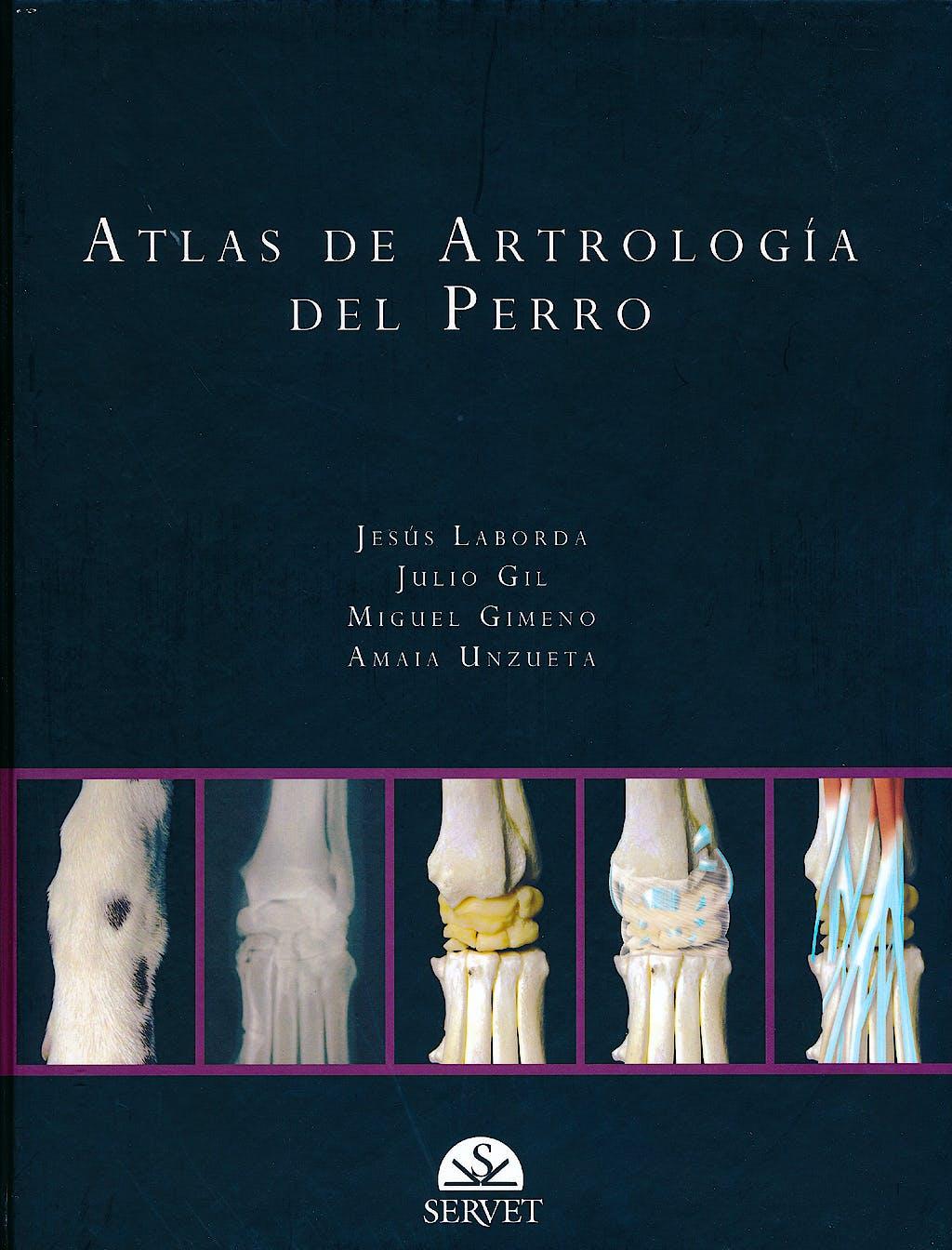 Portada del libro 9788492569007 Atlas de Artrologia del Perro