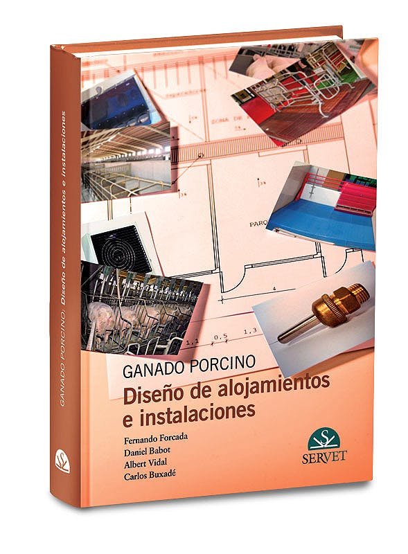 Portada del libro 9788492569076 Ganado Porcino. Diseño de Alojamientos e Instalaciones