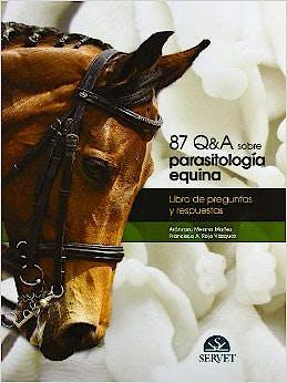 Portada del libro 9788492569359 87 Q&A sobre Parasitología Equina. Libro de Preguntas y Respuestas