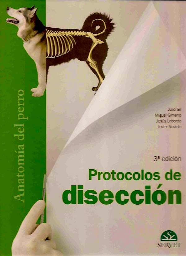 Portada del libro 9788492569731 Protocolos de Disección: Anatomía del Perro