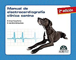 Portada del libro 9788492569823 Manual de Electrocardiografía Clínica Canina