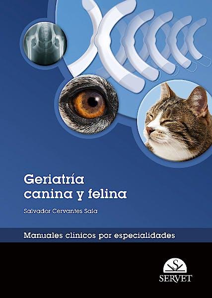 Portada del libro 9788492569885 Geriatria Canina y Felina