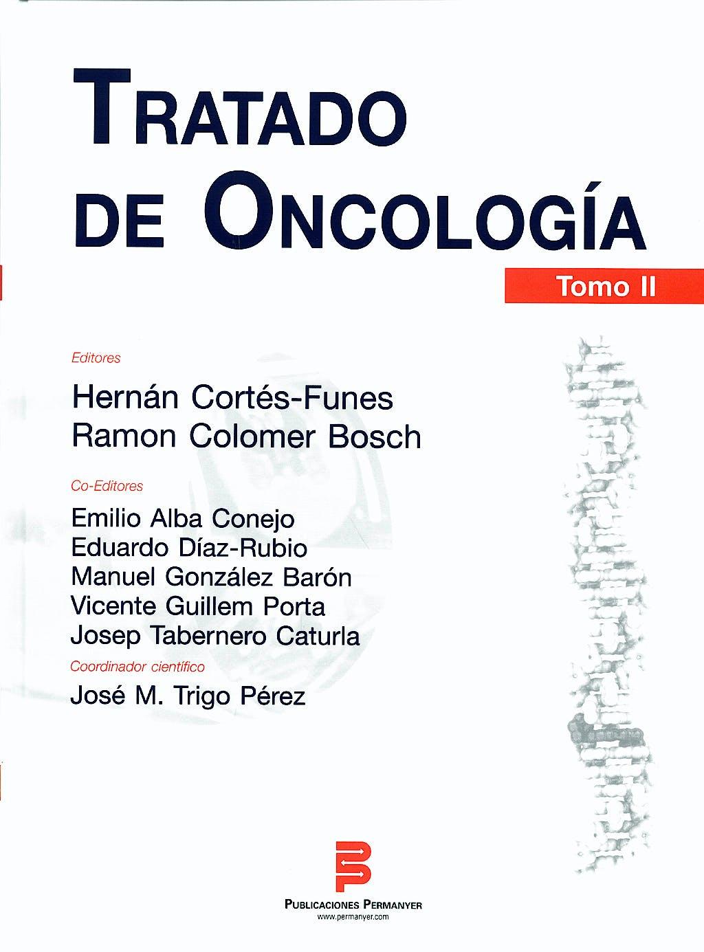 Portada del libro 9788492620166 Tratado de Oncologia. Tomos I y II